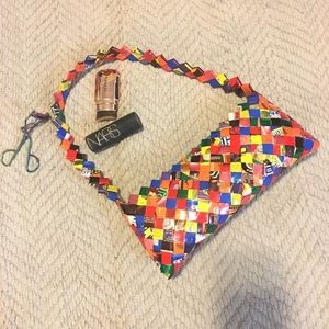 90s Candy Wrapper Shoulder Bag.